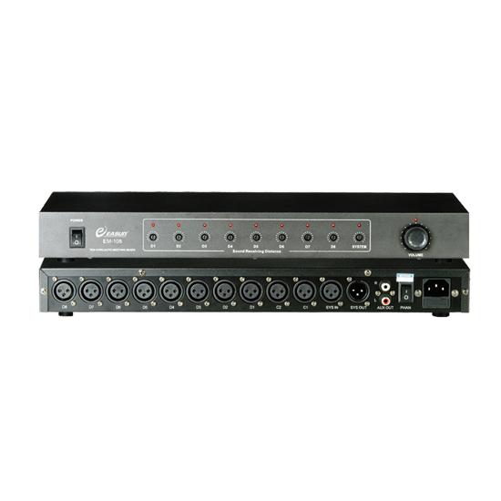 EM-108十路智能会议混音器